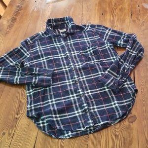 Hollister Flannel Button Down Shirt